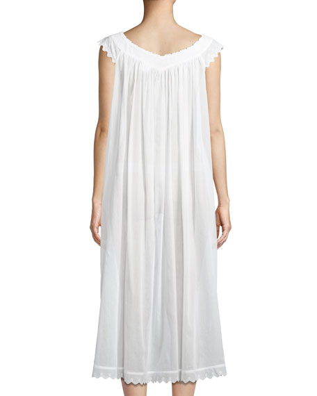 Antigone Sleeveless Long Nightgown
