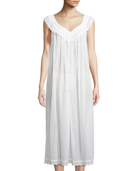 Celestine Antigone Sleeveless Long Nightgown