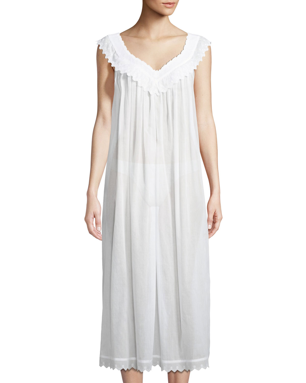Celestine Antigone Sleeveless Long Nightgown | Neiman Marcus