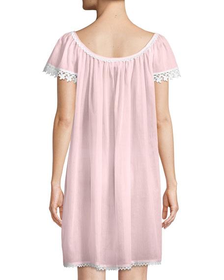 Evening Star Short-Sleeve Nightgown