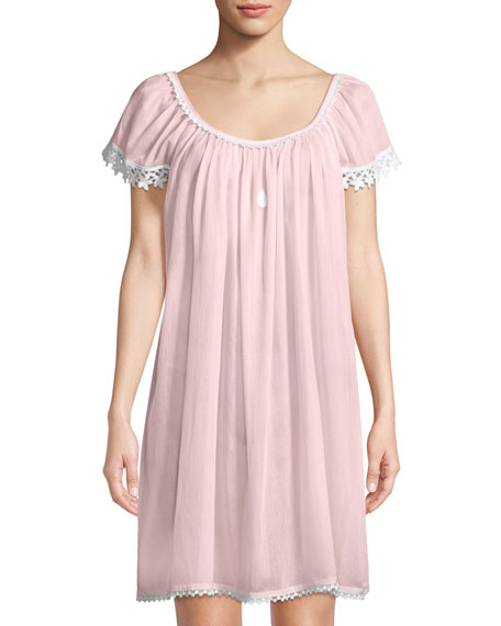 Celestine Evening Star Short-Sleeve Nightgown