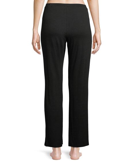 Pret-a-Porter Lace-Trim Lounge Pants