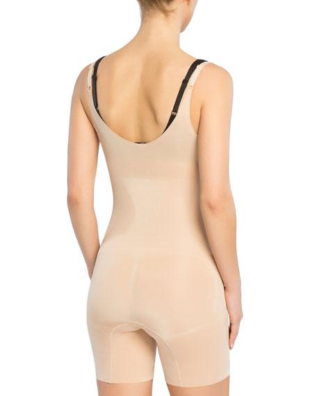 Oncore Open-Bust Mid-Thigh Bodysuit Shaper