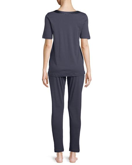 Lavender Jersey Pajama Set