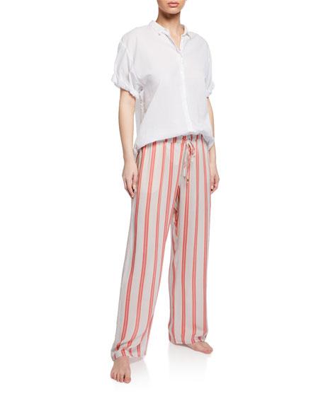 Stripe Pattern Lounge Pants