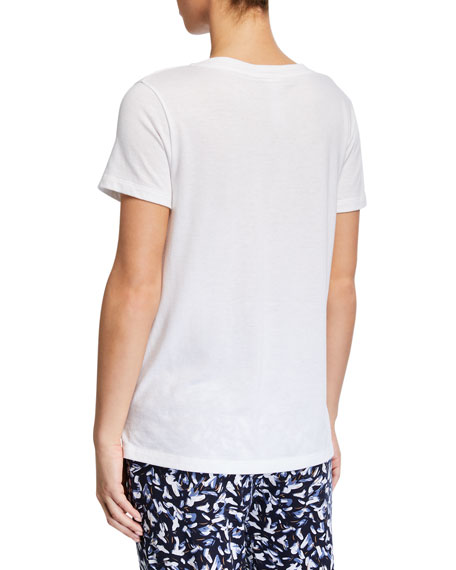 Sleep & Lounge Short-Sleeve Shirt