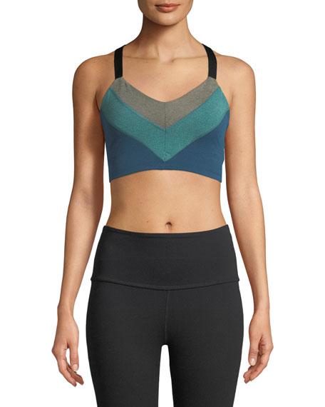 Beyond Yoga Block and Key Sports Bralette