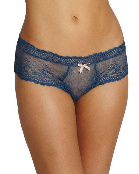 Colette Lace Boy-Leg Thong