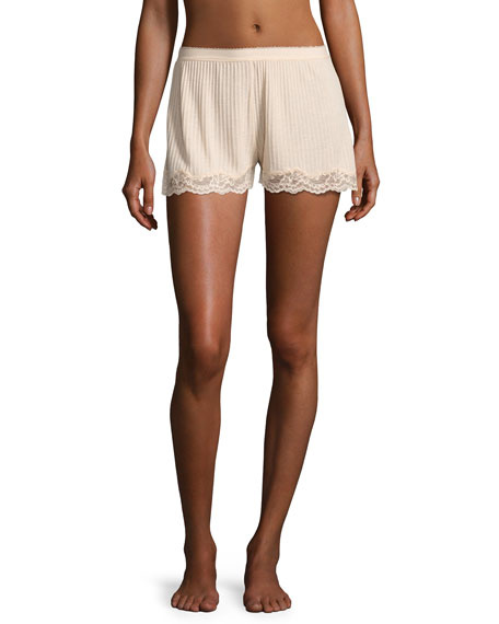 Stella McCartney Lily Blushing Lounge Shorts