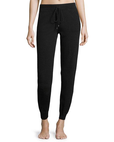 Neiman Marcus Cashmere Collection Cashmere Jogger Lounge Pants