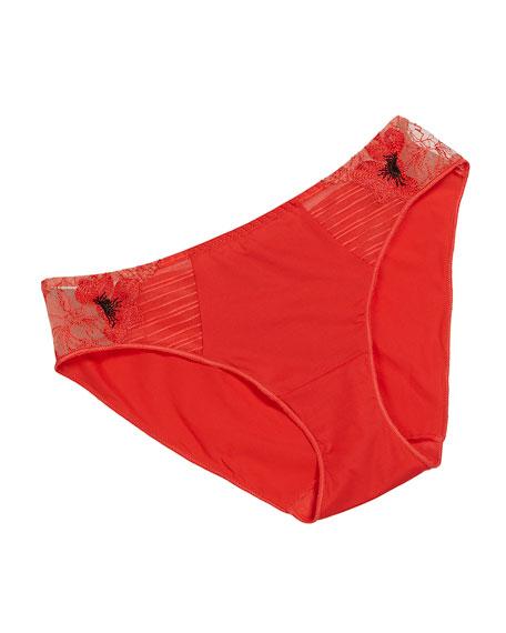 Maison Lejaby Fleur de Pavot Bikini Briefs