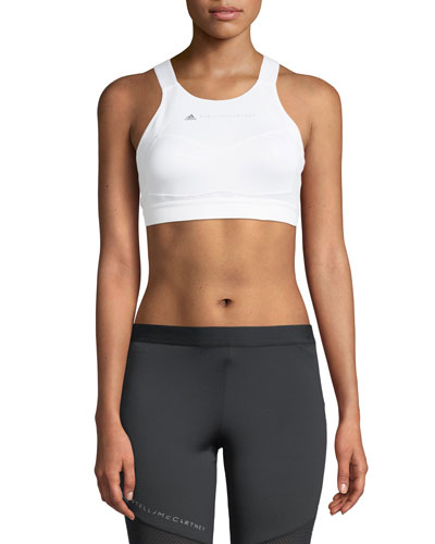 Performance Essentials Sports Bra, White