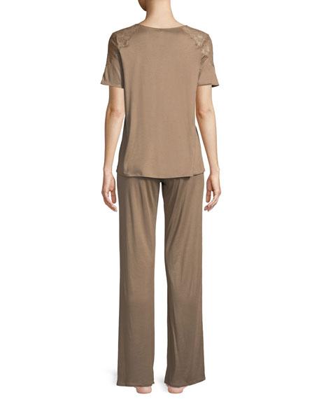 Fleur Long Pajama Set