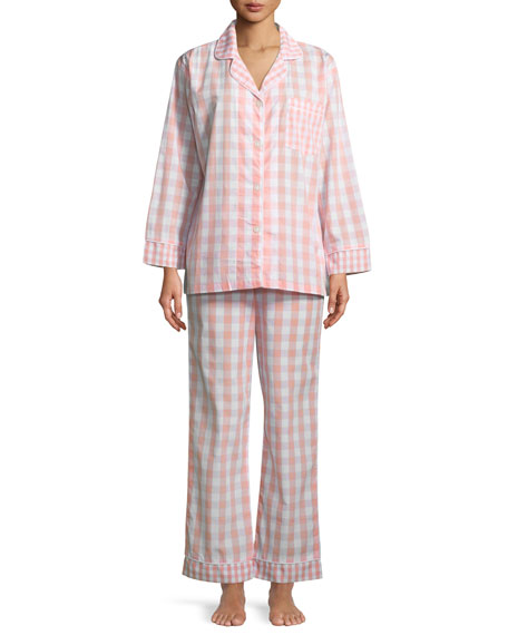Bedhead Gingham Long-Sleeve Classic Pajama Set