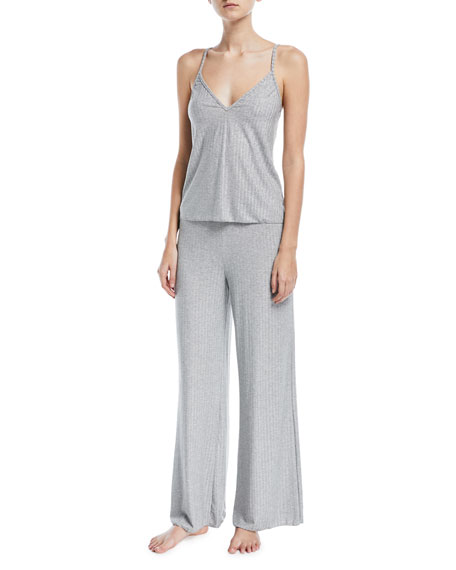 Minimalista Rib-Knit Lounge Pants