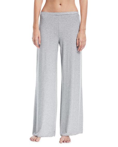 Cosabella Minimalista Rib-Knit Lounge Pants