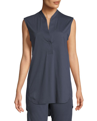 Sea Island Sleeveless Lounge Top