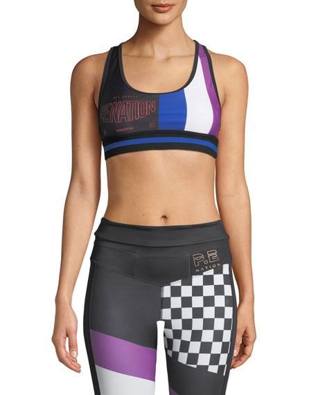 PE Nation The Champ Racerback Performance Crop Top
