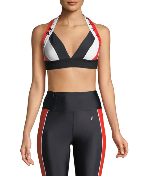 Punch Out Crop Performance Sports Bra