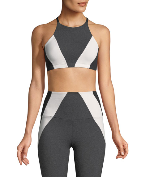 Beyond Yoga Around the Block Sports Bra