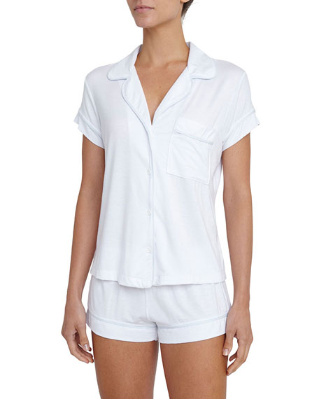Eberjey Gisele Boxer-Short Pajama Set