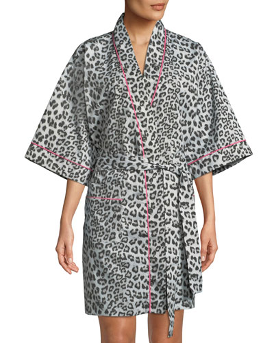 Wild Kingdom Kimono Robe