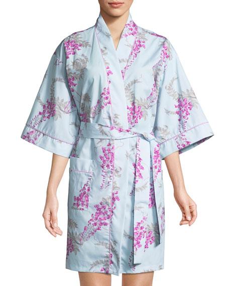 Wisteria Short Kimono Robe