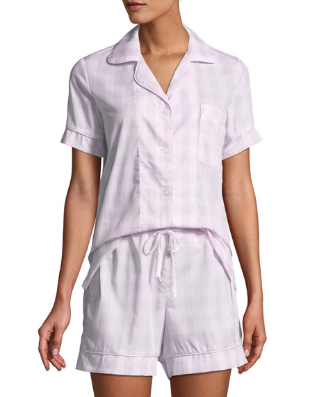 Bedhead Tonal Gingham Shorty Pajama Set