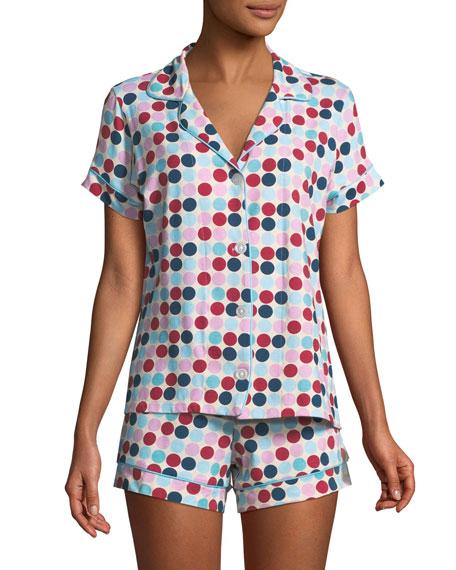 Candy Dot Shorty Pajama Set