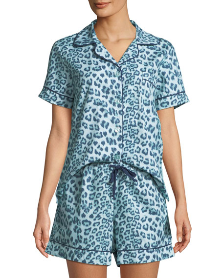 Bedhead Wild Kingdom Shorty Pajama Set, Plus Size