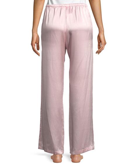 Garbo Silk Charmeuse Lounge Pants