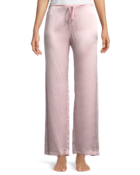 Christine Designs Garbo Silk Charmeuse Lounge Pants