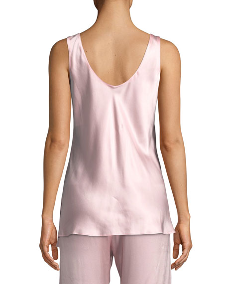 Garbo Silk Charmeuse Lounge Camisole