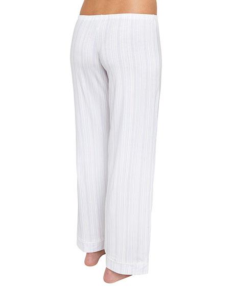 Painted Striped Pajama Pants