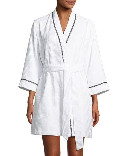 ladies first embroidered robe