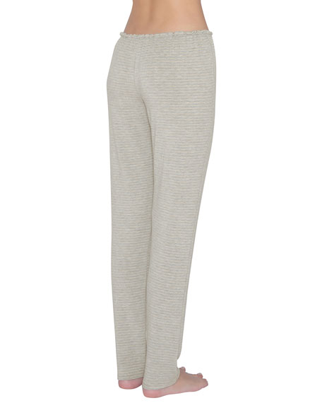 Sadie Stripes Slim Lounge Pants