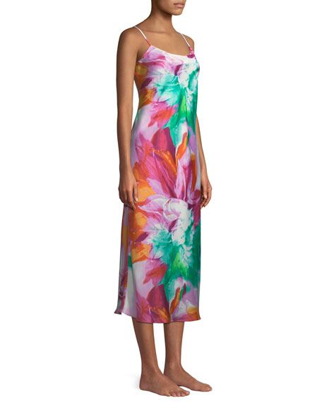 Paraiso Satin Nightgown