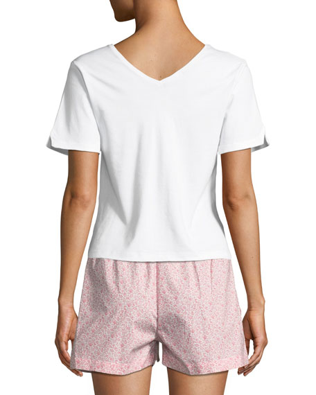V-Neck Short-Sleeve Lounge Tee