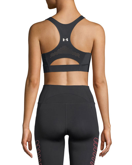 Breathelux Perforated Mid Performance Sports Bra