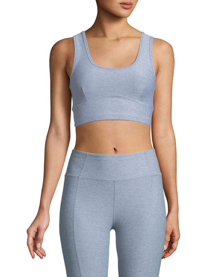 Carson Cutout Back Performance Crop Top
