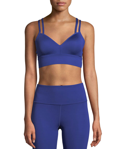 Perpetual Strappy-Back Sports Bra