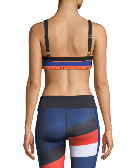 Alignment Colorblock Performance Sports Bra