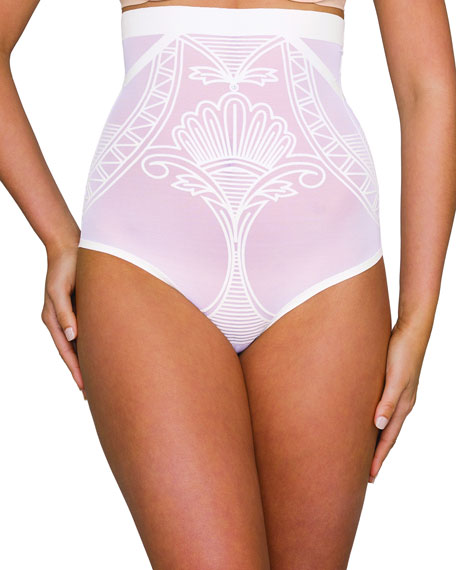 Nancy Ganz Enchante High-Waist Shaping Briefs