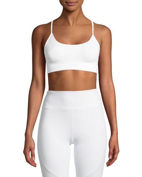 Alala Strappy-Back Low-Impact Barre Sports Bra