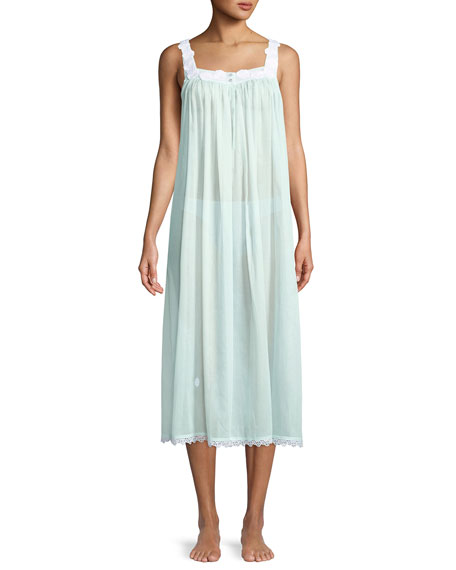 Celestine Gesine Long Sleeveless Nightgown