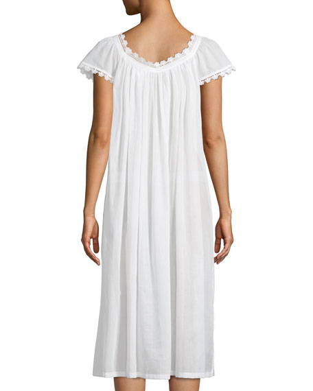 Aphrodite Cap-Sleeve Nightgown
