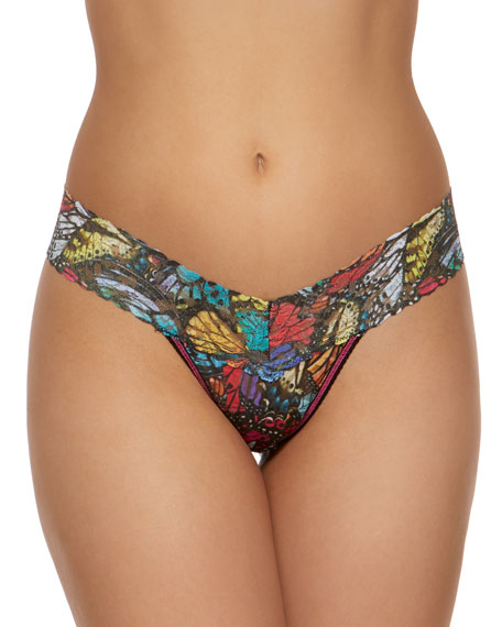 Hanky Panky Flutter-By Low-Rise Lace Thong