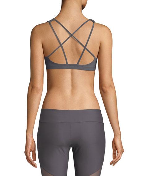 Mudra Medium-Support Strappy-Back Sports Bra