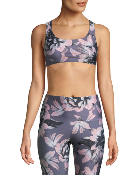 Onzie Mudra Medium-Support Strappy-Back Sports Bra