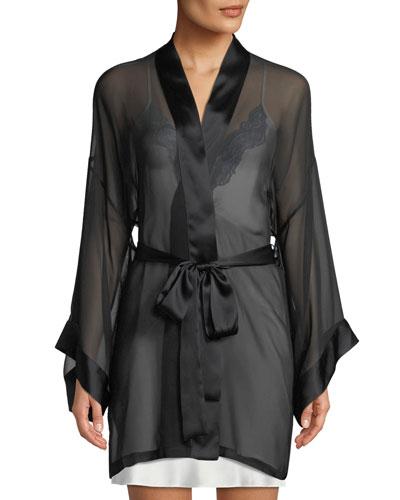 Limelight Semisheer Chiffon Robe